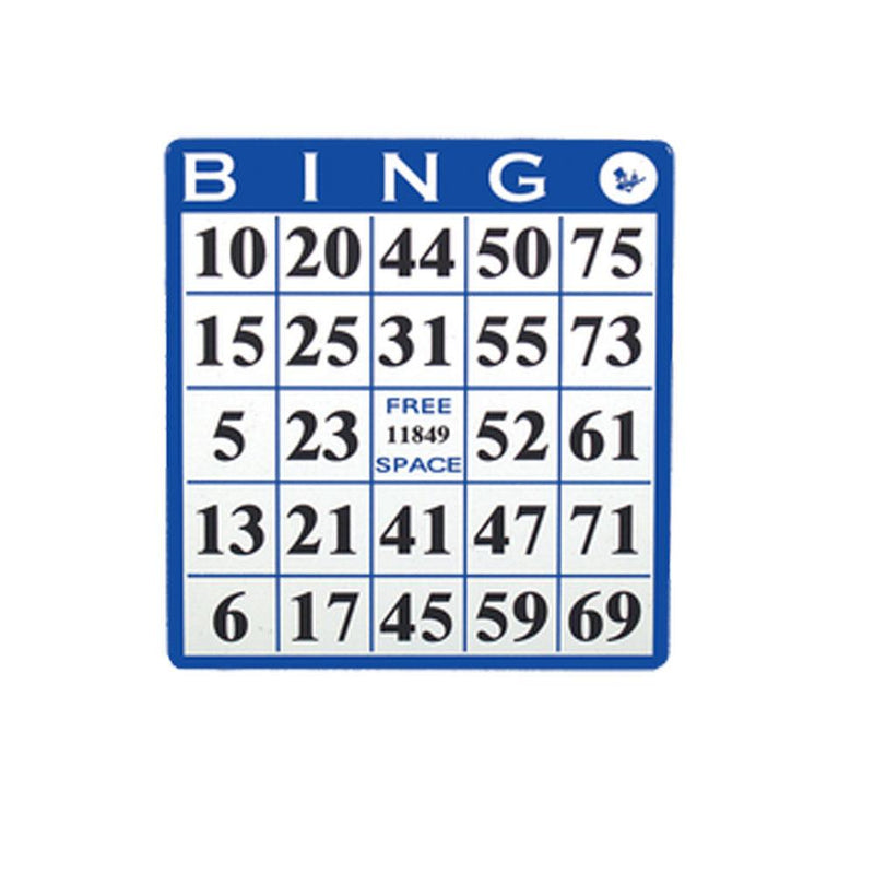 1on Bingo Hard Card - Blue