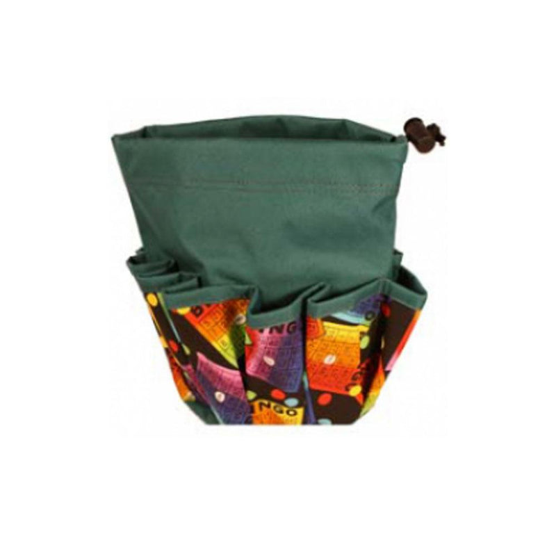 #3 Rainbow Cards 10 Pocket Draw String Bag