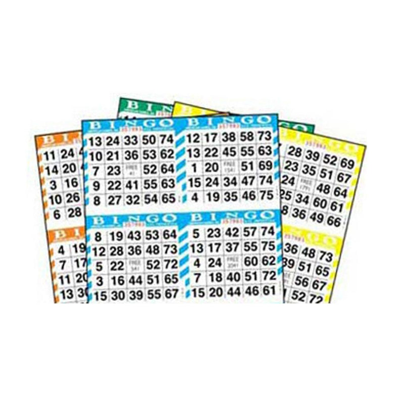 4on Square Bingo Paper Bulk Box (Approx. 2250 Sheets)