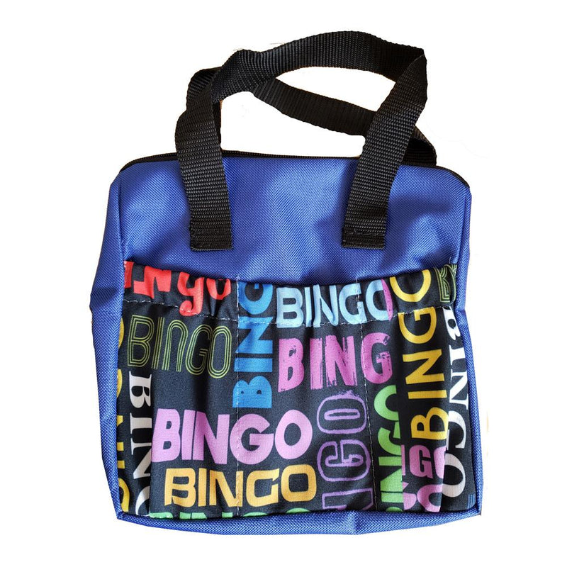 Bingo Word Scramble 6 Pocket Zipper Bingo Tote