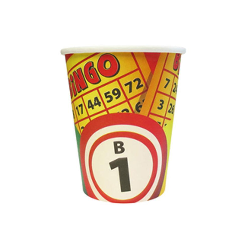 9oz Bingo Cups (Pkg of 8)