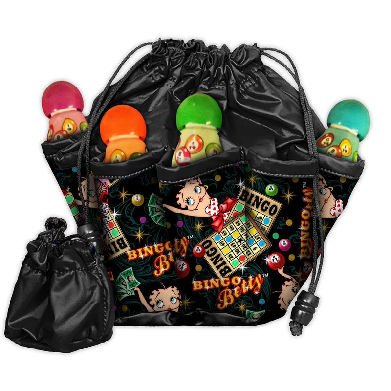 Betty Boop Classic 10 Pocket Bingo Bag