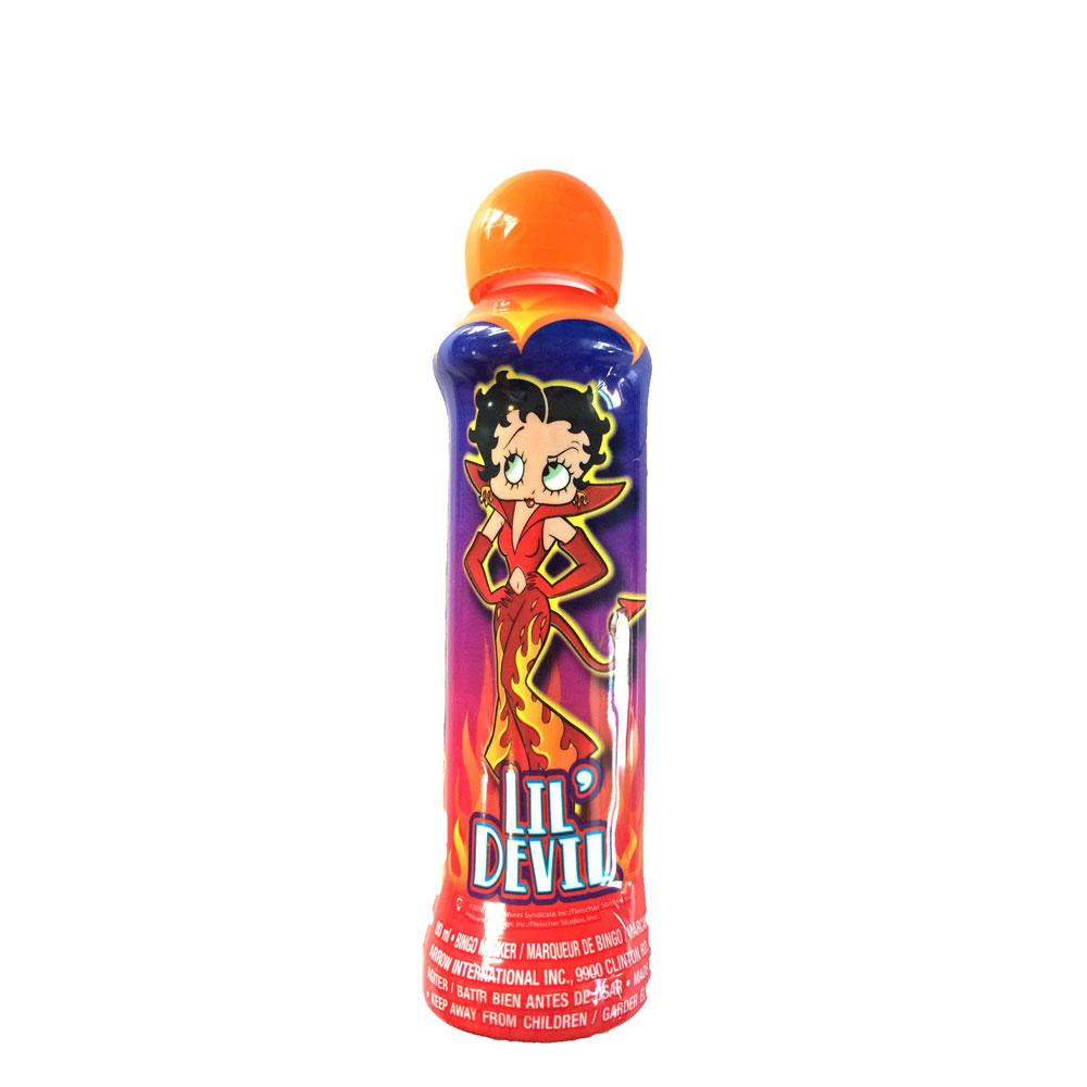 betty boop lil' devil halloween bingo dauber – wholesale bingo supplies