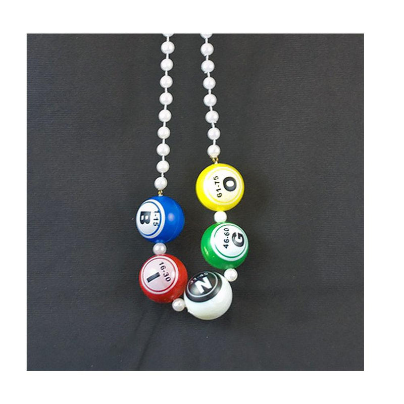 Bingo Ball Bead Necklace