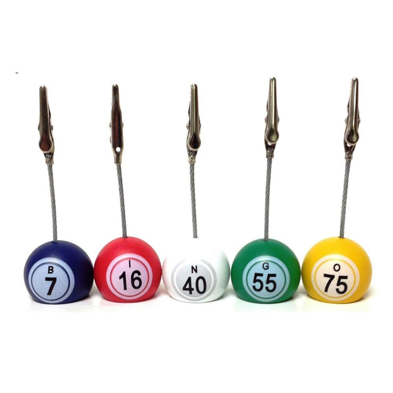 Bingo Ball Ticket Holder