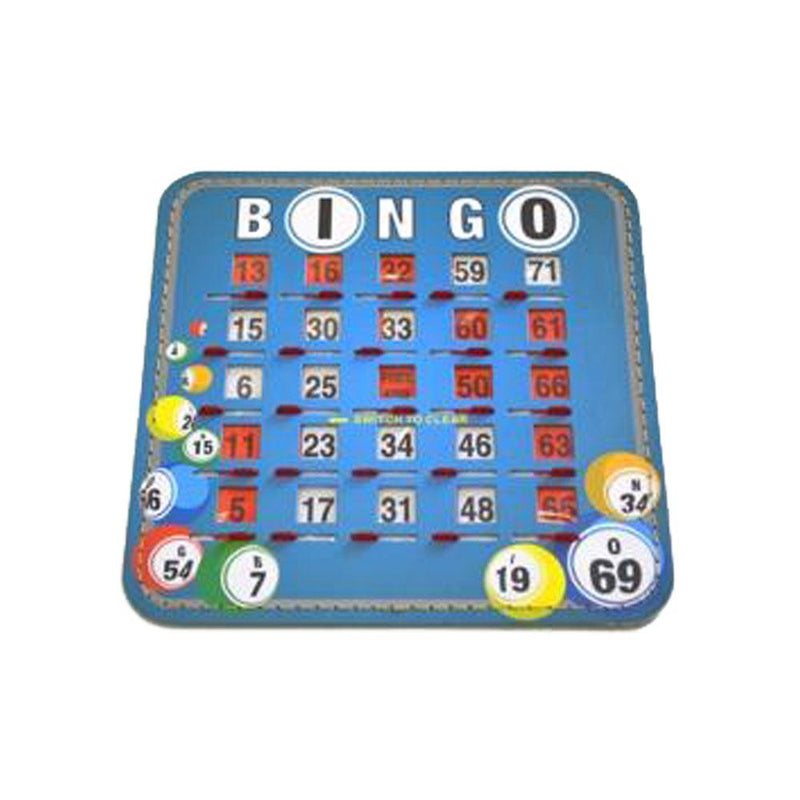 Bingo Ball Shutter Card