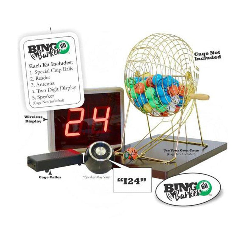 """Bingo Barker"" Automated Bingo Caller * (Cage Not Included)"
