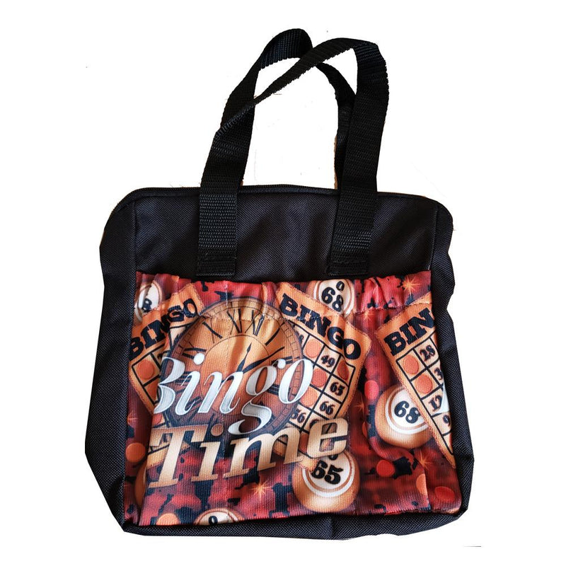 Bingo Time 6 Pocket Zipper Bingo Tote