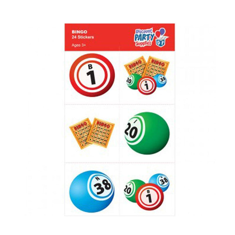 Bingo Stickers (Pkg of 24)