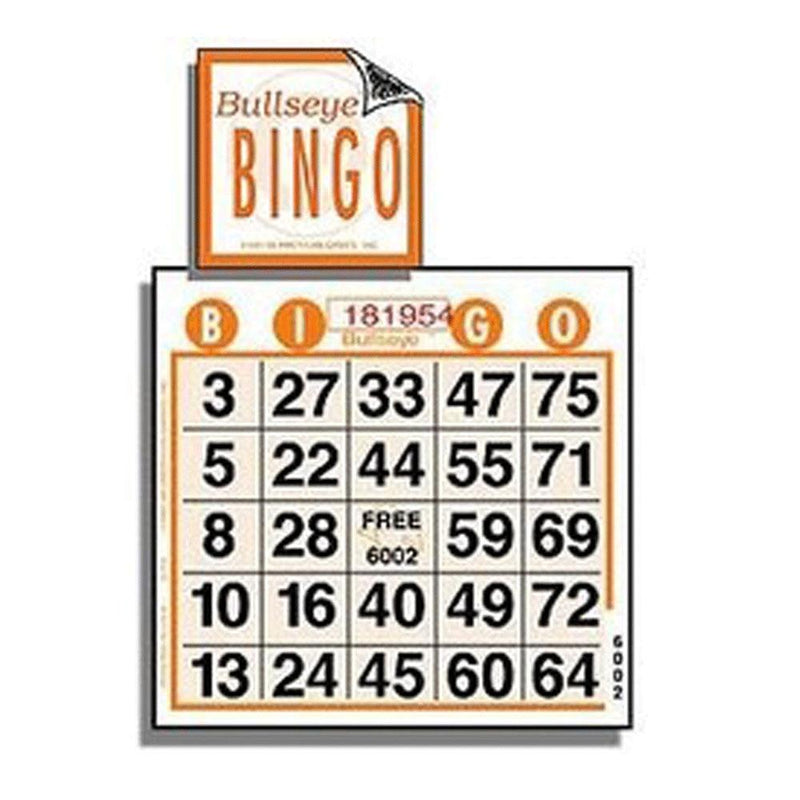 1on  Bullseye Bingo Paper - 1000 Sheets