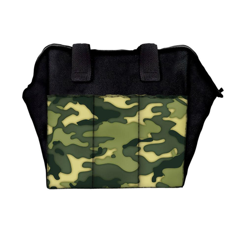 Camo 6 Pocket  Zipper Bingo Tote