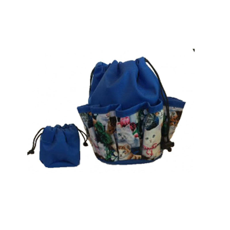 #9 Cat 10-Pkt Bingo Bag with Chip Pouch