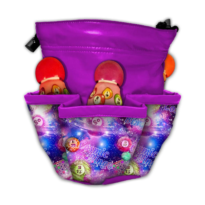 Galaxy 10 Pocket Bingo Bag
