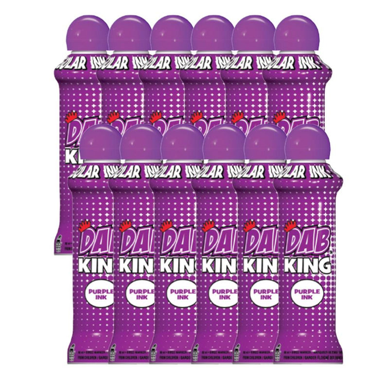 Dab King Bingo Dauber (3 oz & 4 oz) - 12 Packs