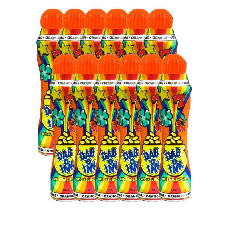 Dab-O-Ink Bingo Daubers (3 oz & 4 oz) - 12 Packs