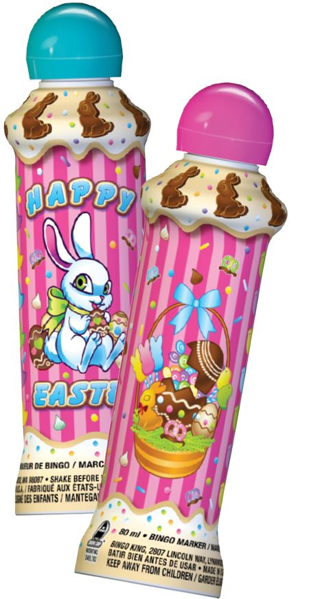 Chocolate Easter Bunny Bingo Dauber