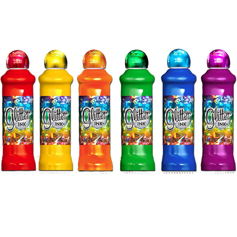 Glitter Ink Bingo Daubers (3 oz) - 12 Pack