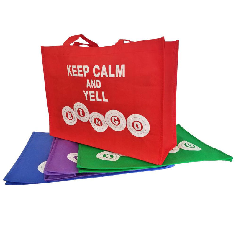 Keep Calm and Yell Bingo Tote