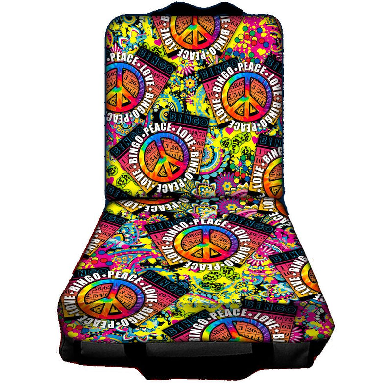 Peace, Love Bingo Cushion