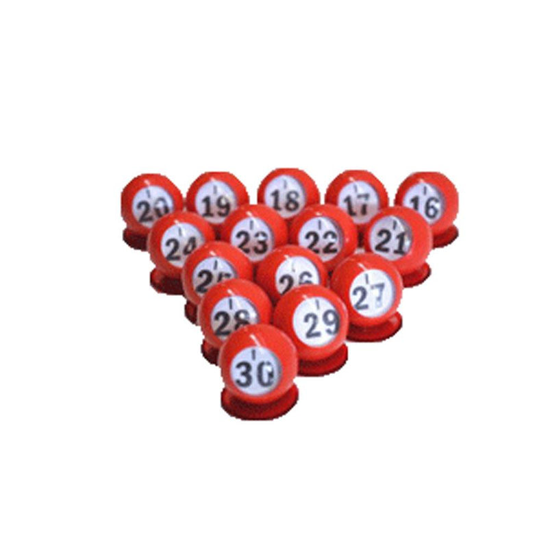 Bingo Ball Waiters 15-pk - I Row
