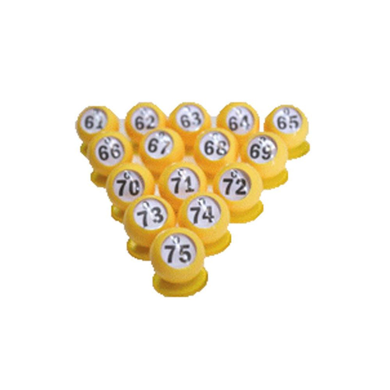 Bingo Ball Waiters 15-Pk - O Row