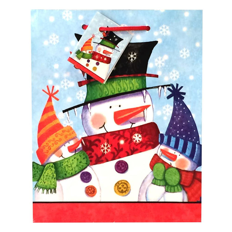 Snowman Buddies Gift Bag