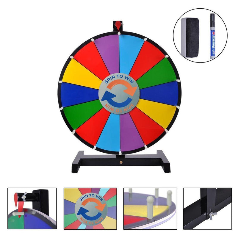 Tabletop Spinning Prize Wheel (24 inch)