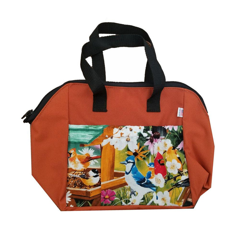 Spring Again 6-Pkt Zipper Tote