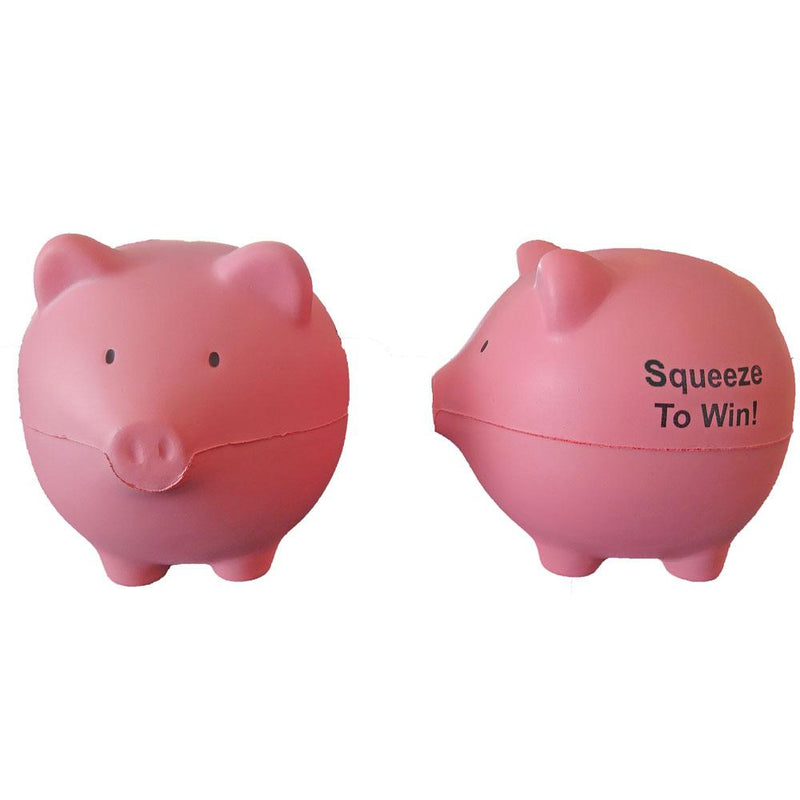 """Squeeze To Win"" Pig Stress Reliever"