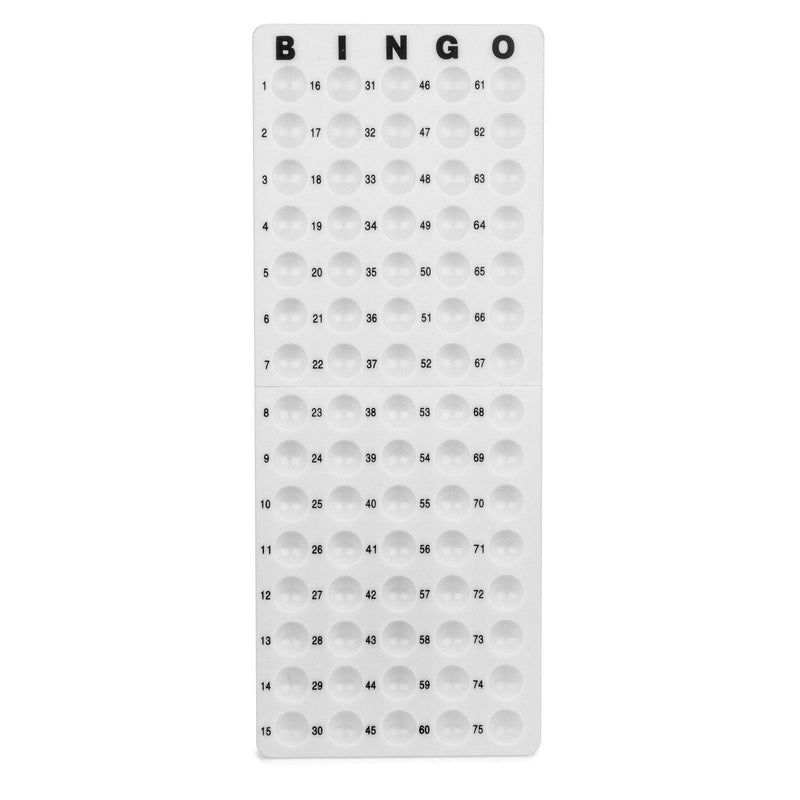 Medium Bingo Ball Masterboard - White