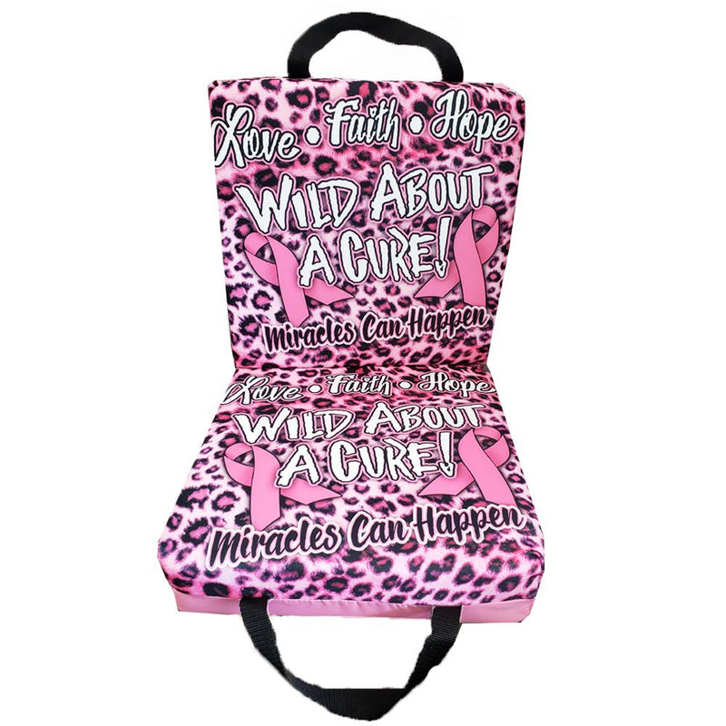 Wild About A Cure Bingo Cushion