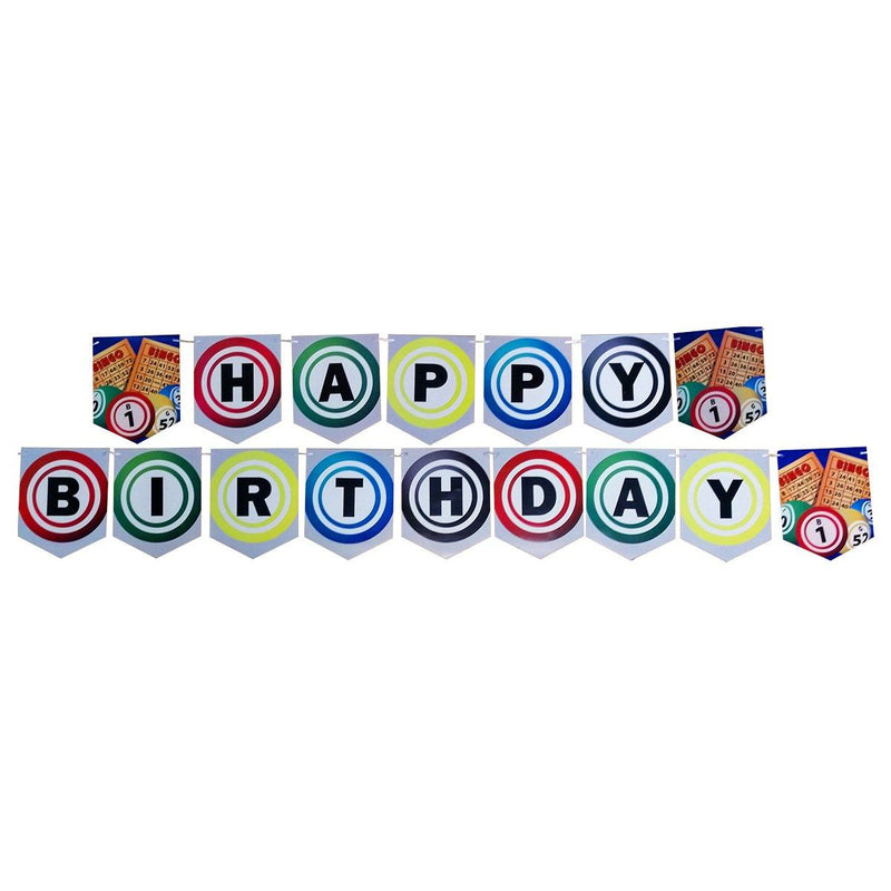 Happy Birthday Bingo Banner