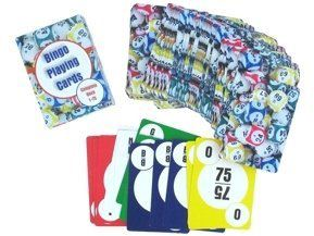 Bingo Calling Playing Cards