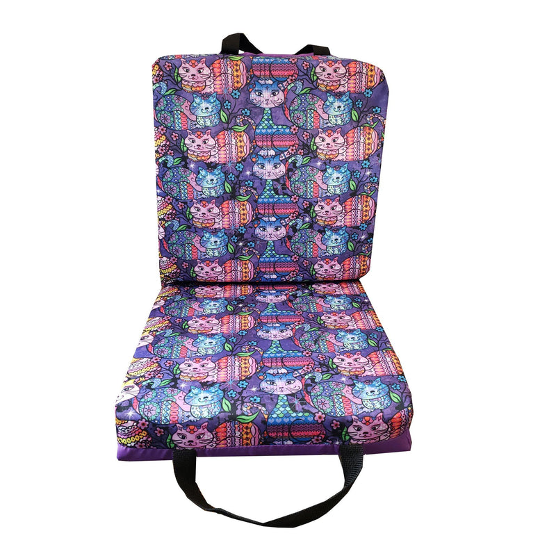 Paisley Cats Bingo Cushion