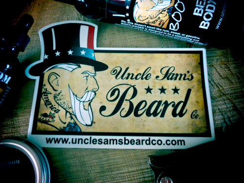 Uncle Sam's Vinyl Decal