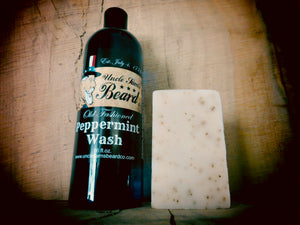 The CLEAN COMBO (Body Wash & Bar Soap)