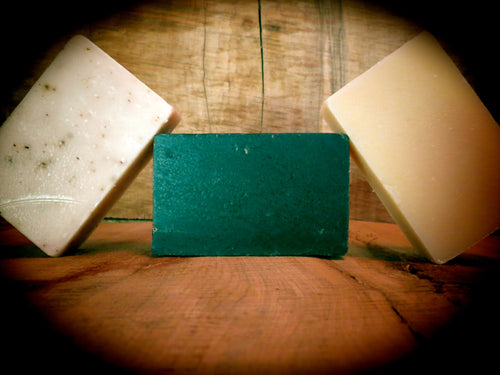 All-Natural Handmade Bar Soaps