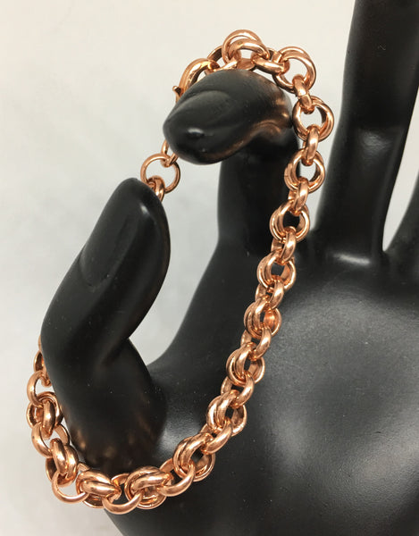 Chainmaille-Copper connect