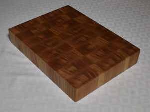 57mm Oak end grain chopping board (Grade A)