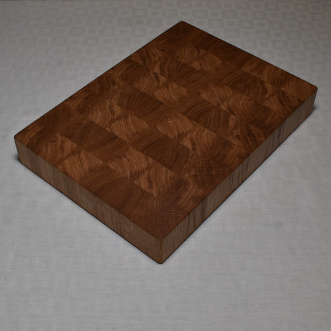 59mm Oak end grain chopping board (Grade A)