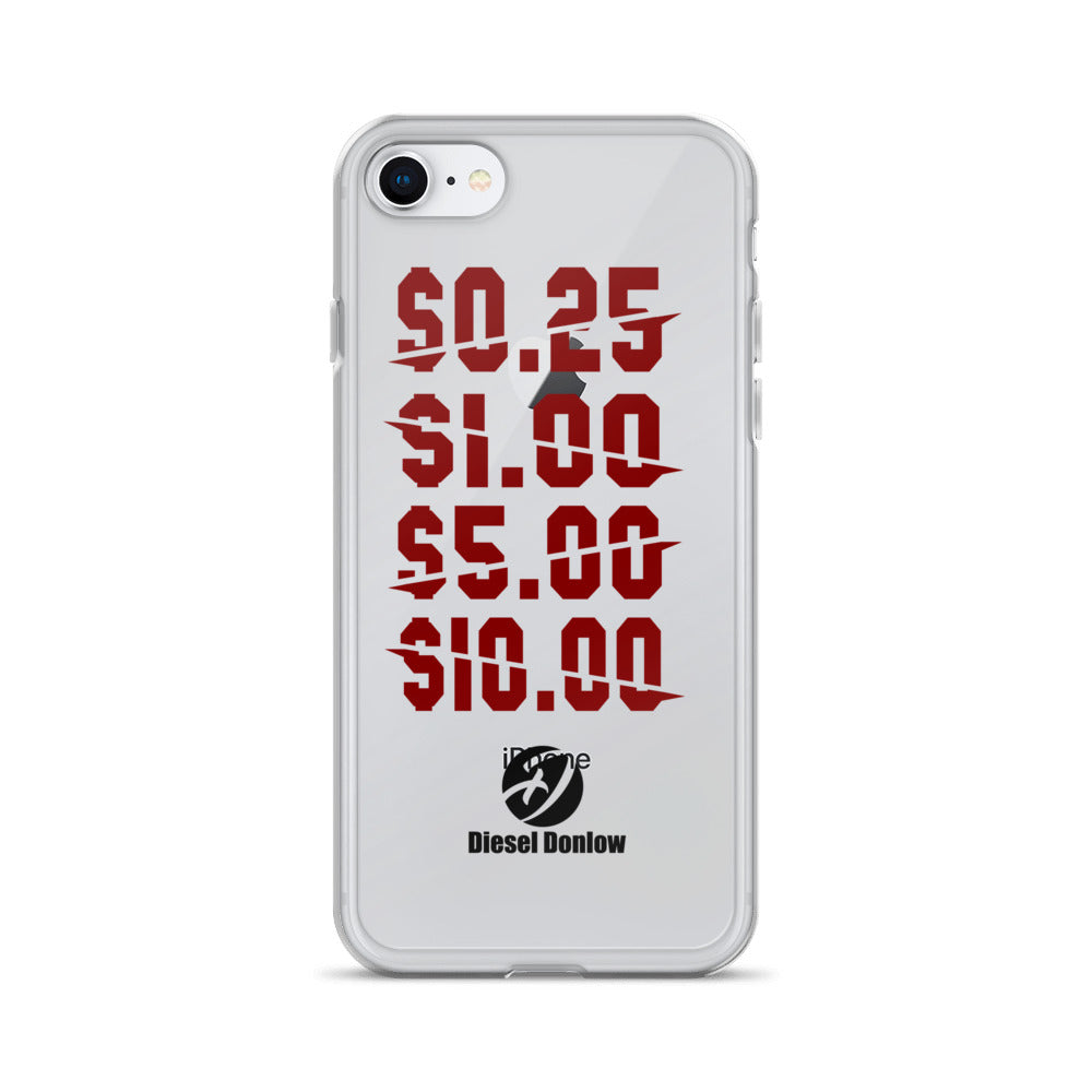 $0.25 $1.00 $5.00 $10.00 Savage Muse iPhone Case