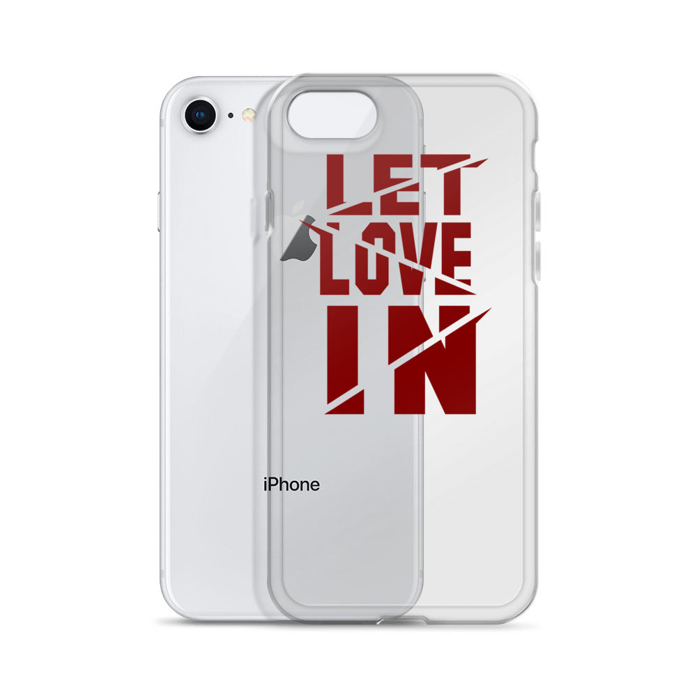Let Love In SAVAGE iPhone Case
