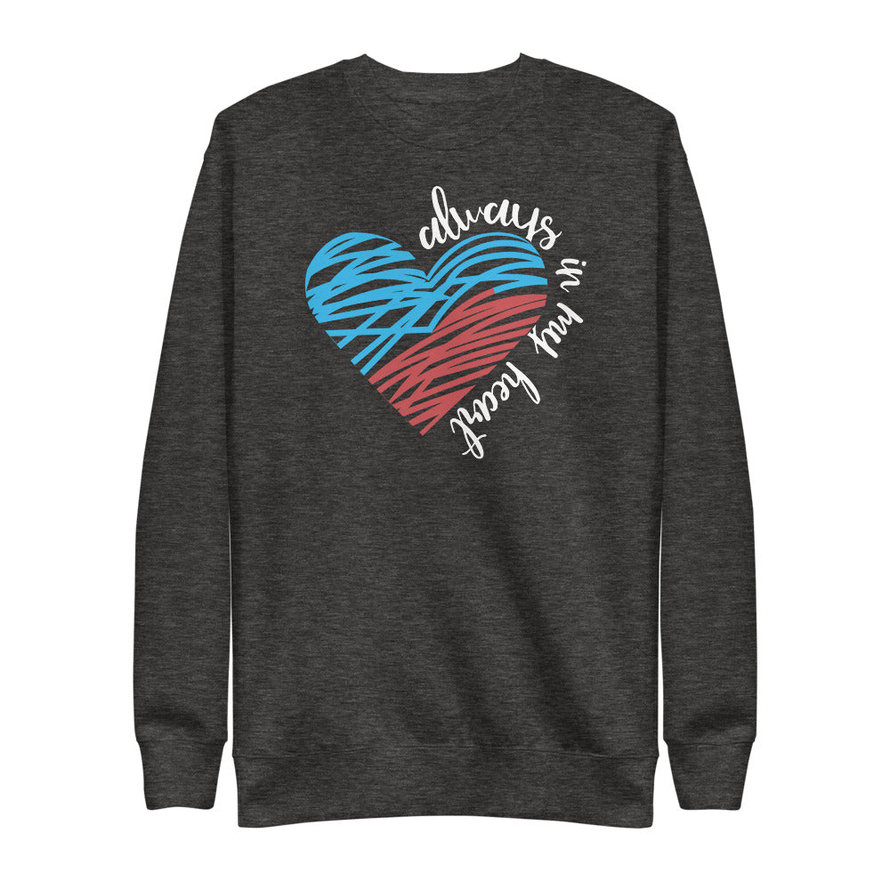 Always In My Heart Fleece Pullover