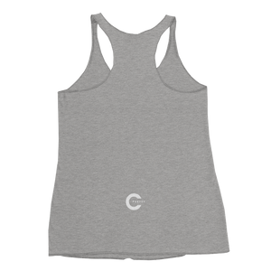 Let Love In Women's Racerback Tank