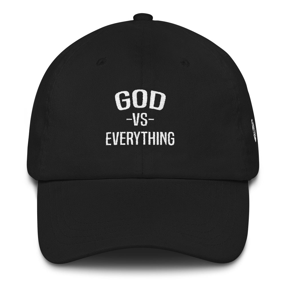 God Vs Everything Dad Hat