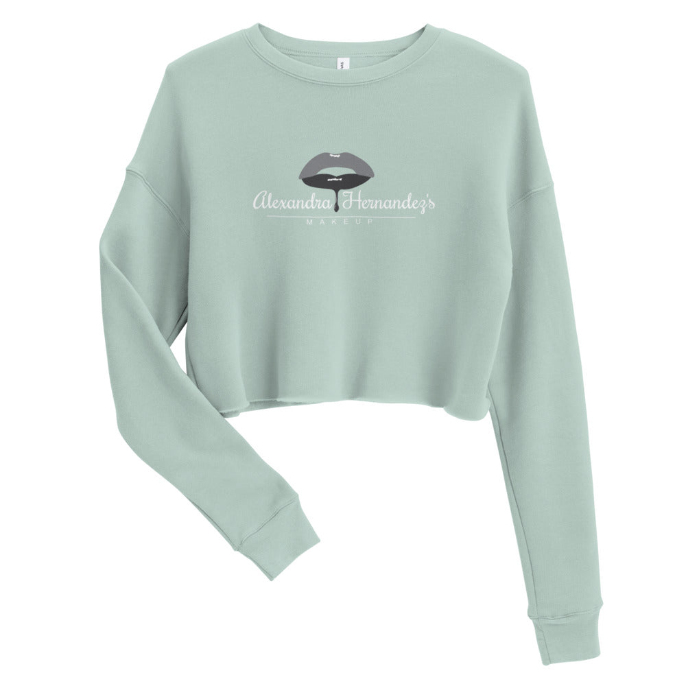 Alexandra's Makeup Crop Sweatshirt