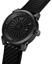 ZINVO Blade Venom Watch In Carbon Fiber Side View