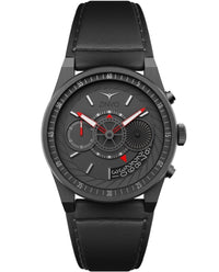 ZINVO Men's Chrono Gunmetal Watch Front View