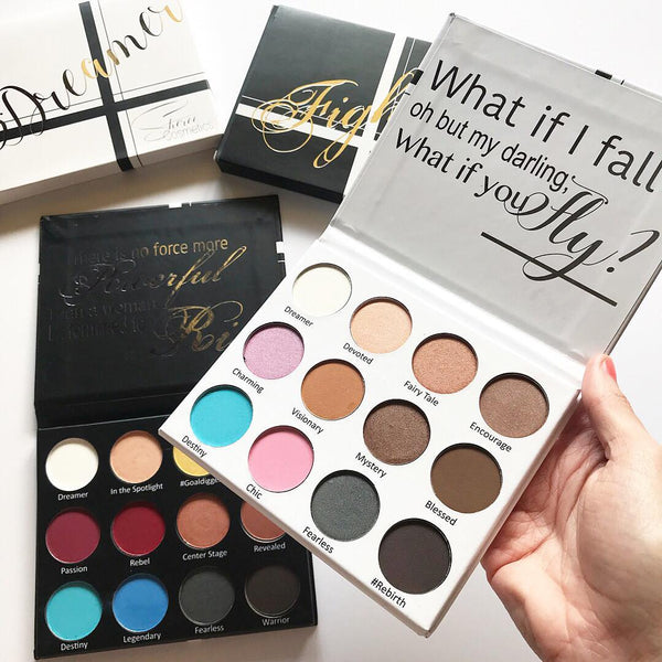 Dreamer & Fighter Eyeshadow Palette Bundle