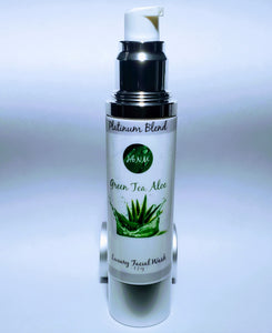 Platinum Blend | Green Tea Aloe | Facial Wash